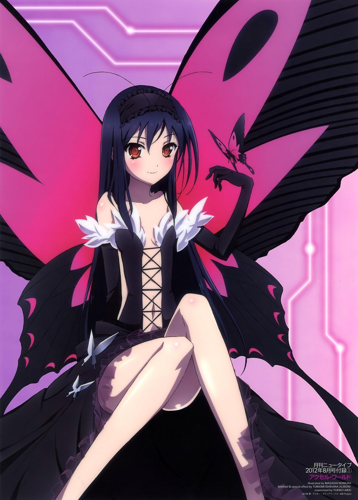 Ficha de Nanami Yande.re-217891-accel_world-kuroyukihime-nomura_masashi-wings